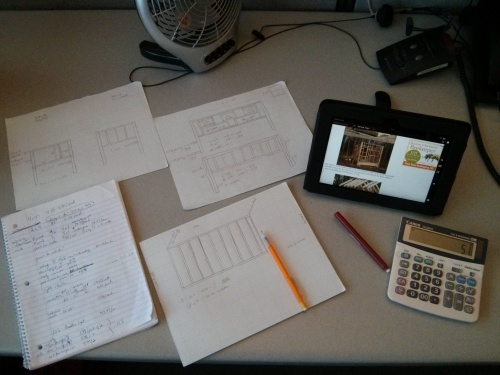 Designing blueprints for a backyard chicken coop