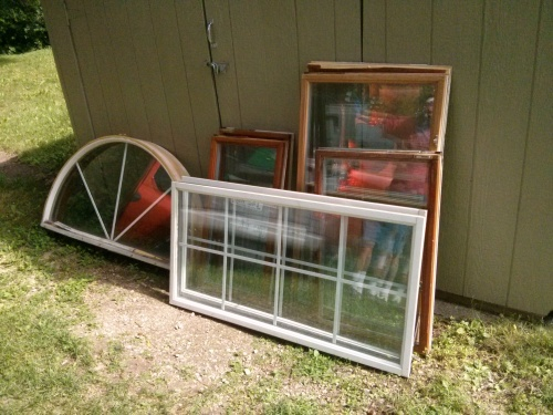 Free windows for chicken coop from craigslist